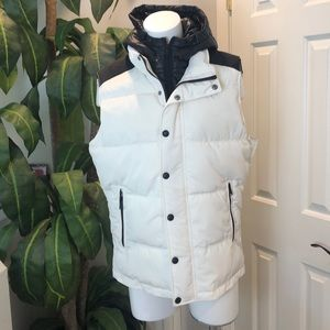 Express Puffer Vest with Hood